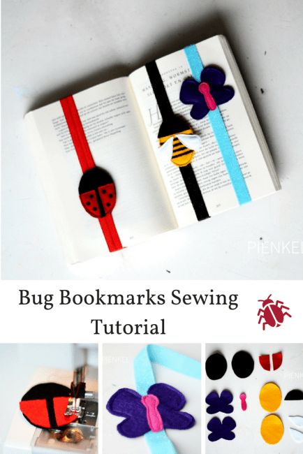 Bookmarks Sewing Tutorial