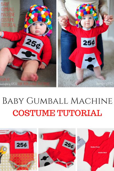 Cute Baby Halloween Costume DIY