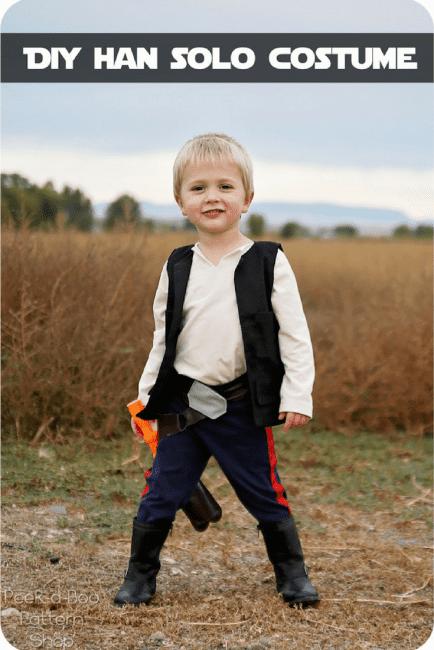 Kids Han Solo Costume Tutorial