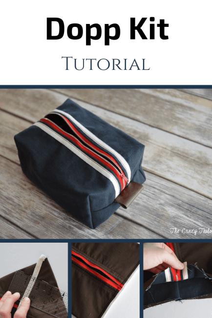 FREE Dopp Kit Tutorial