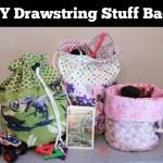 DIY Drawstring Stuff Bag Tutorial