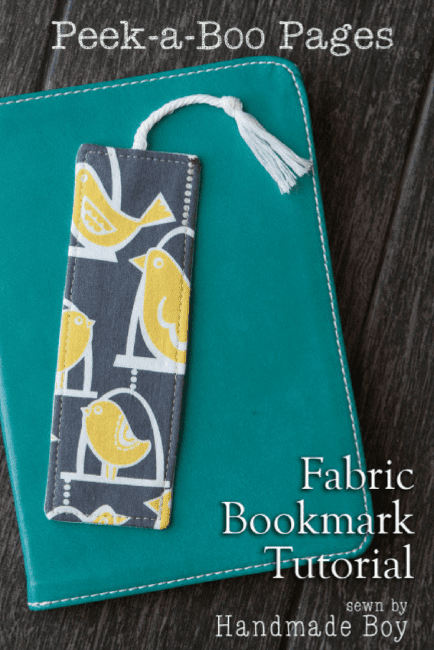 Fabric Bookmark DIY FREE Pattern