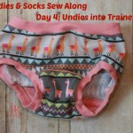 Kids Undies & Socks Sew Along Day 4: Turning Undies Into Trainers