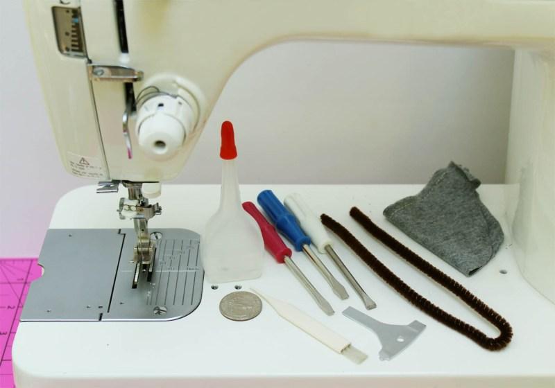 Photo by Marci Debetaz - Sewing Machine Maintenance
