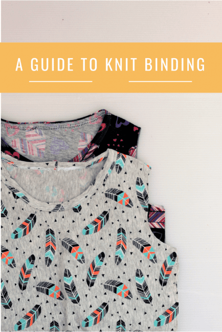 guide to knit binding