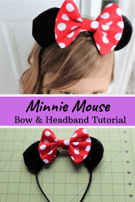 DIY Minnie Mouse Bow