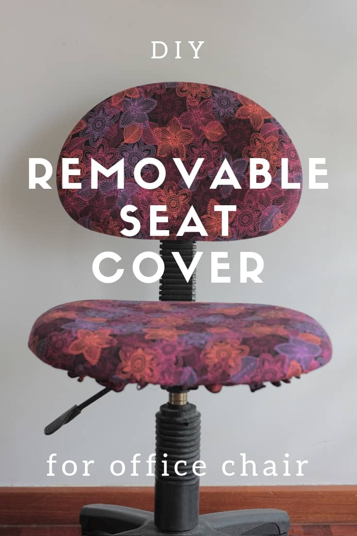 Diy Removable Seat Cover For Office Chair Peek A Boo Pages