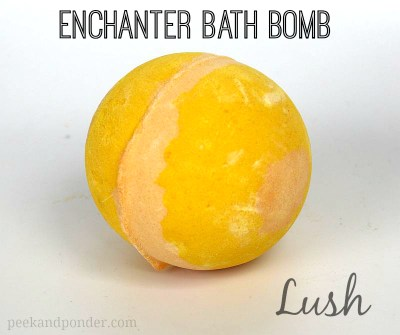 Lush Enchanter Bath Bomb