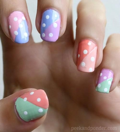 Pastel Easter/Spring nails