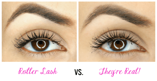 b2bc5dbe9ec Benefit Mascaras: Roller Lash vs. They're Real | Peek & Ponder