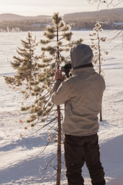 Shooting In the snow