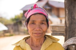 Kindness in your eyes - Akha village near Muang Sing