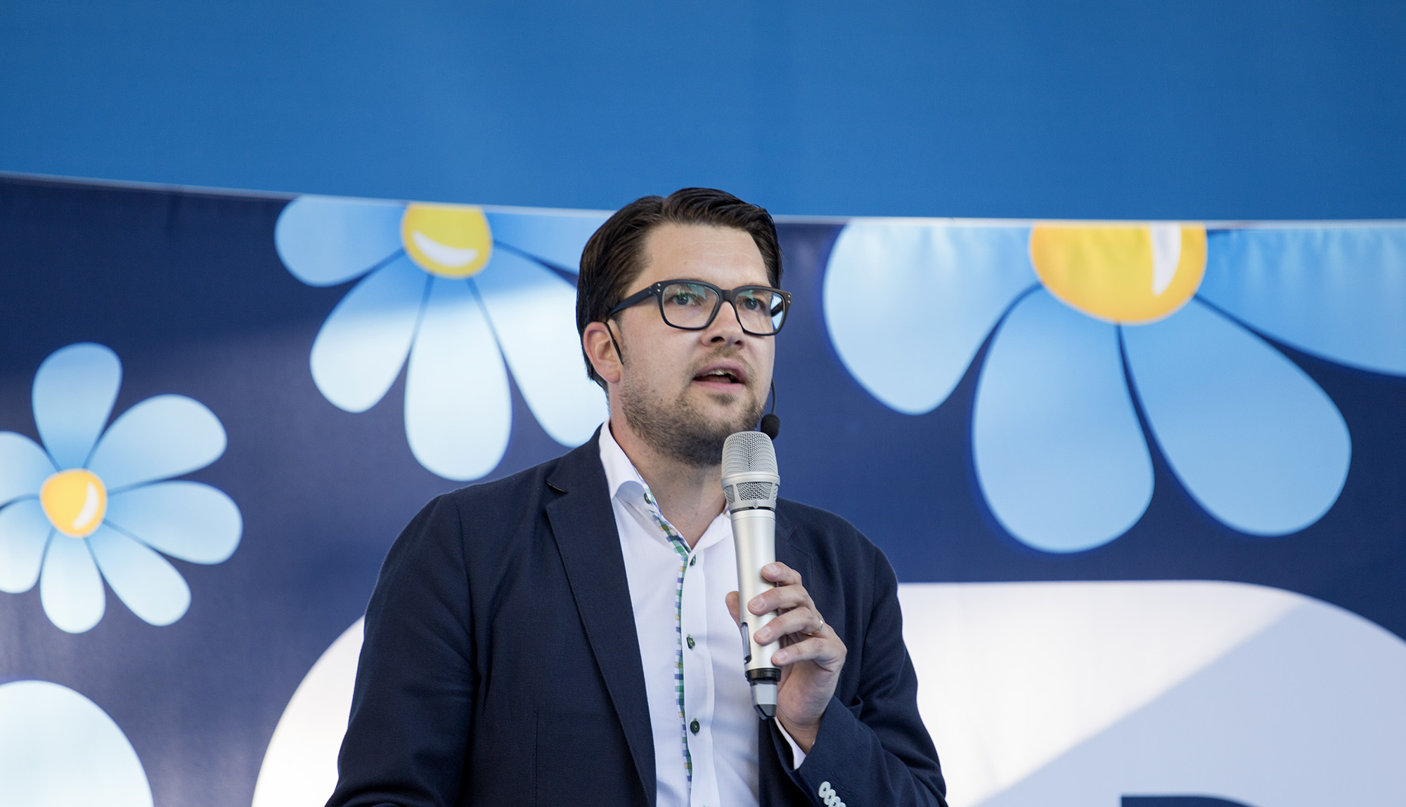 Jimmie Åkesson - authoritarian politician Sweden