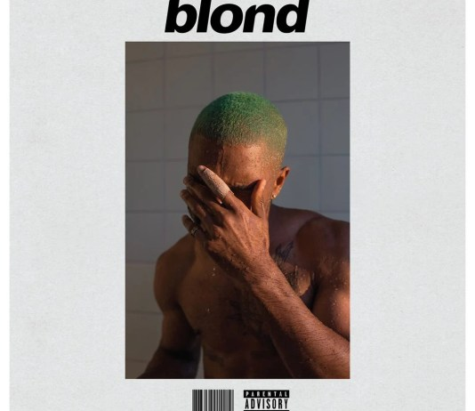 Frank Ocean Blond Cover