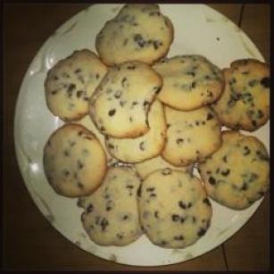 Cookie de Gotas de Chocolate Amargo