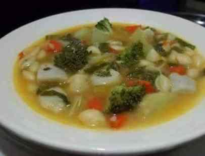 Sopa de Legumes e Verduras