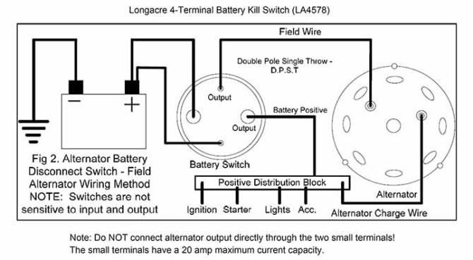 longacre 4terminal kill switch instructions  pegasus auto