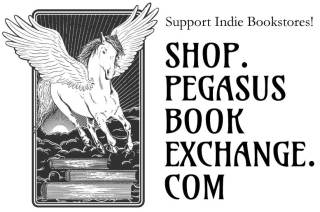 Support indie bookstores! Shop.pegasusbookexchange.com