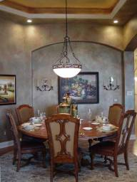 Interior Design Traditional Dining Room Niche | Pegasus Design Group | Milwaukee, WI
