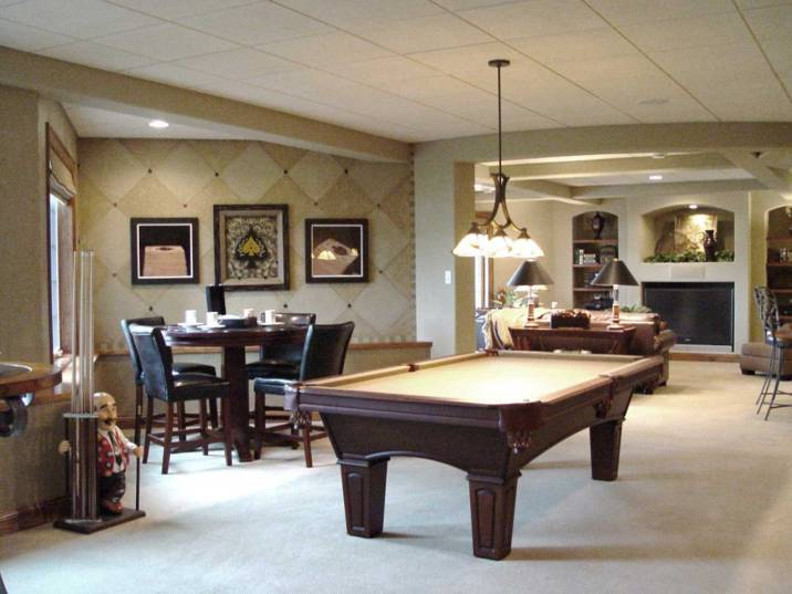 Interior Design Game Room | Pegasus Design Group | Milwaukee, WI