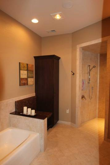 Interior Design Accessible Bathroom | Pegasus Design Group | Milwaukee, WI