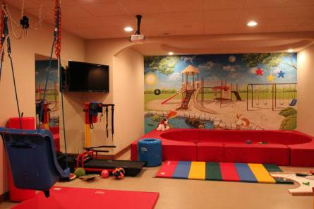 Interior Design Accessible Playroom | Pegasus Design Group | Milwaukee, WI