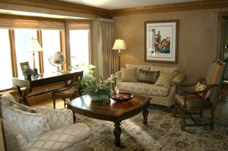 Interior Design Formal Sitting Room   Pegasus Design Group   Milwaukee, WI