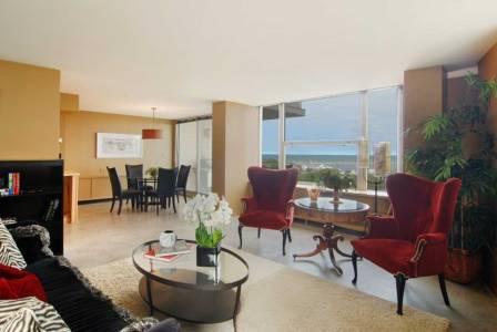 Interior Design Condo Staging | Pegasus Design Group | Milwaukee, WI