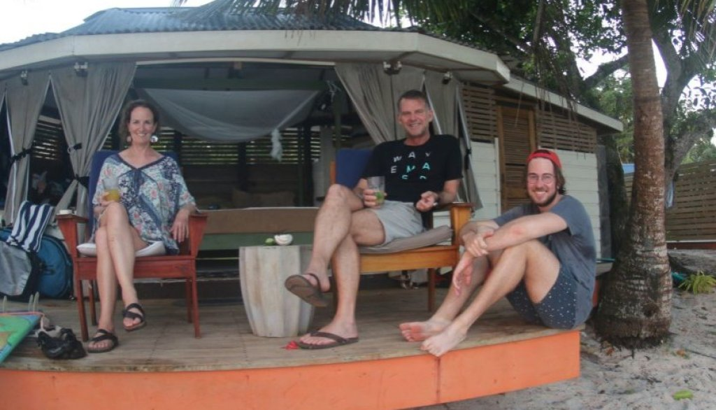 cover The Keightley Family enjoyed watching the amazing sunsets in Samoa from their own front row seats 2
