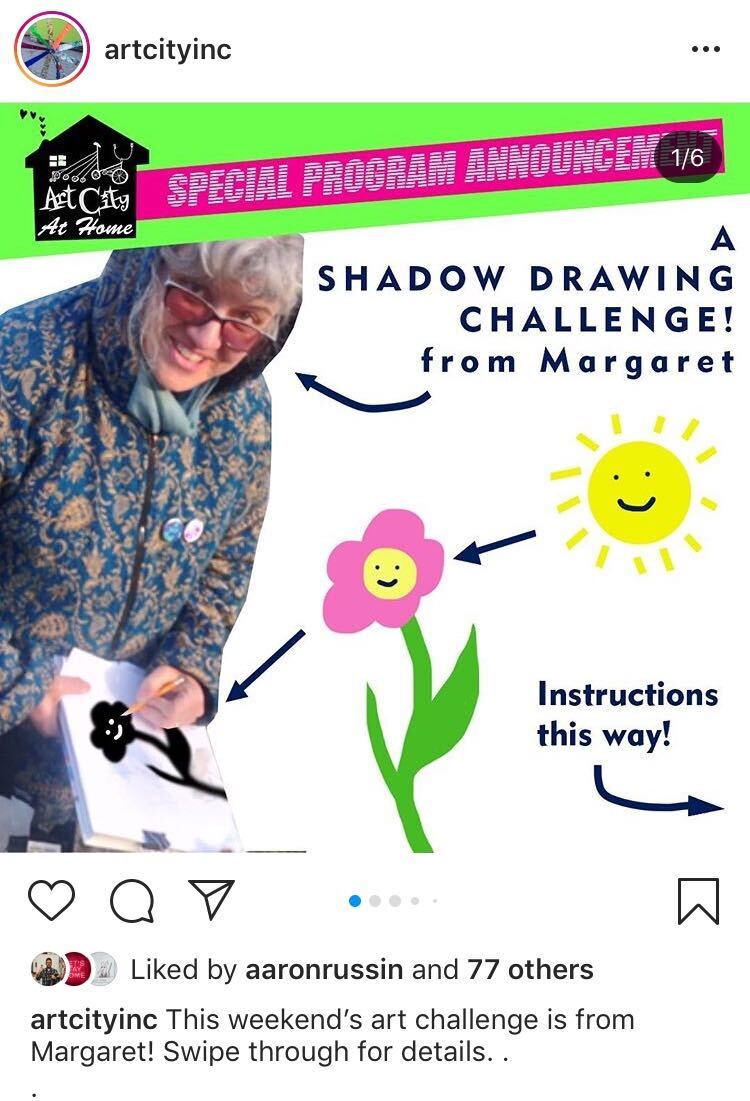 shadow drawing instructions