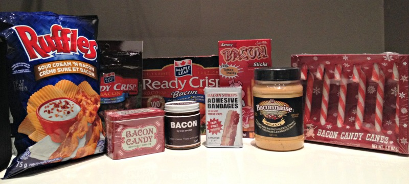 Whish Bacon Gift Basket Products