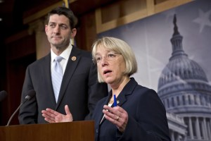 Rep. Paul Ryan and Sen. Patty Murray