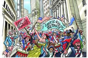 Liberté, Egalité, Trumpité, Liberté, Egalité, Bernité,