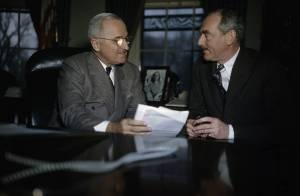 Harry Truman with Dean Acheson