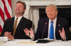 Senator Dean Heller and President Trump