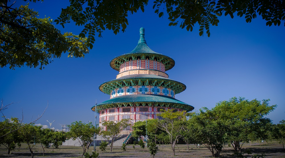 wisata budaya tionghoa surabaya - pagoda tian ti