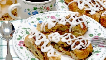 Cinnamon Raisin Swirls make an attractive presentation for breakfast, brunch, or any special occasion.