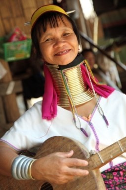 Kayan woman with elongated neck - Natural Penis Enlargement, Is it Really Possible