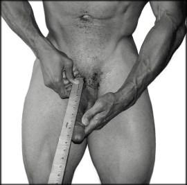 measuring bone-pressed with ruler