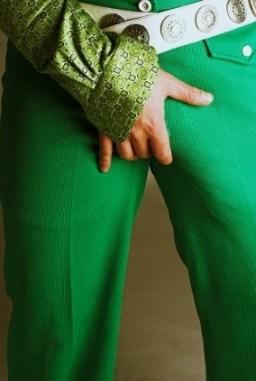 hand holding crotch - Megalophallus