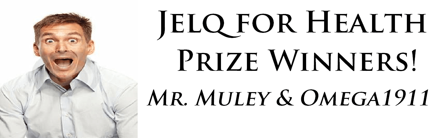 jelq for health prize winners