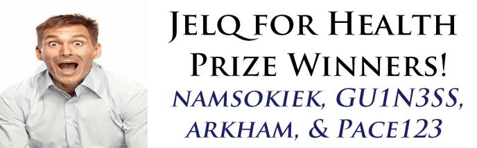 jelq for health winners