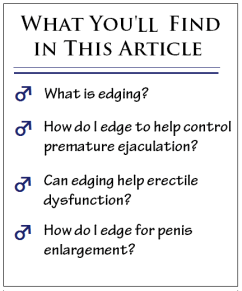 edging article