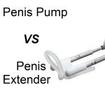 penis pump vs penis extender