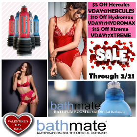 valentines day bathmate sale