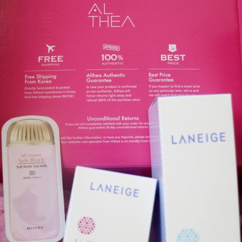 How Much Is Laneige Skin Care Set?