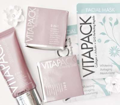 Vitapack Whitening Products Review