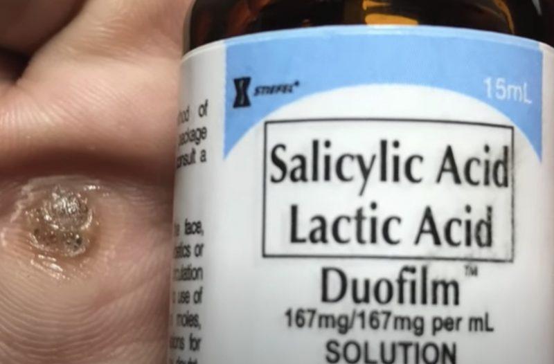 Duofilm Salicylic Acid For Warts