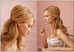 saç modeli mezuniyet kadın adım adım sarışın