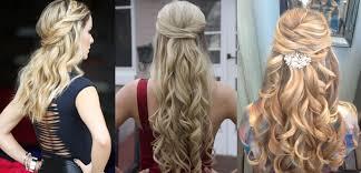 yarı toplanmış saç modelleri